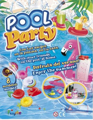 69mm Pool Party Inflatables x 50